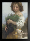 Imagem do Bouguereau - Little Esmeralda