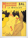 Toulouse  Lautrec - Moulin Rouge La Goulue - loja online