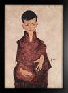 Egon Schiele - Portrait of Herbert Rainer