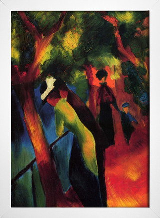 Imagem do August Macke - Sunny Way