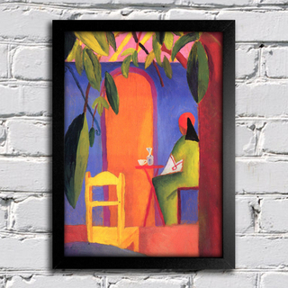 August Macke - Turkish Cafe II - comprar online