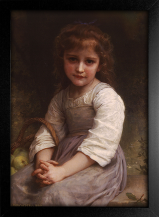 Imagem do Bouguereau - Apples