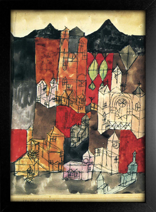 Imagem do Paul Klee - City of Churches
