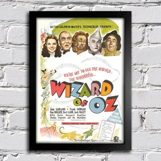 Poster Wizard Of Oz