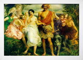 Millais - Cymon and Iphigenia - loja online
