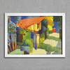 August Macke - House in the Garden - comprar online