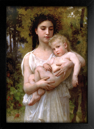 Imagem do Bouguereau - The Younger Brother