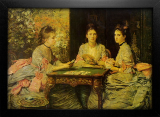 Imagem do Millais - Hearts are Trumps
