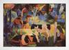 Imagem do August Macke - Landscape With Cows and Camels