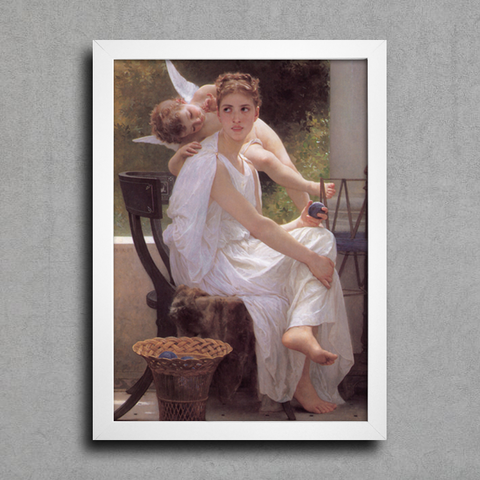 Bouguereau - Work Interrupted