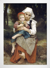 Bouguereau - Breton Brother and Sister - loja online