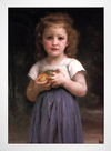 Bouguereau - Little Girl Holding Apples in her Hands - loja online