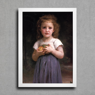 Bouguereau - Little Girl Holding Apples in her Hands - comprar online