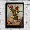 Cezanne - Still Life  Tulips and Apples na internet