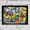 August Macke - Terrace of the Country House in St Germain - comprar online