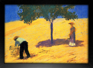August Macke - Tree in the Cornfield - loja online