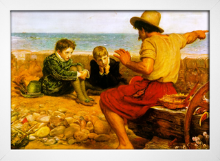 Millais - The Childhood of Walter Raleigh - loja online