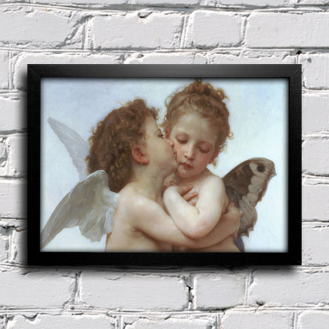 Bouguereau - First Kiss
