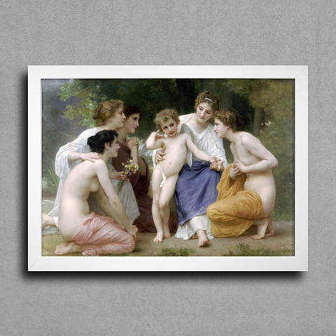 Bouguereau - Ladmiration