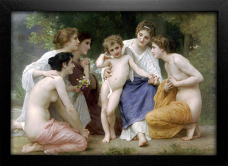 Imagem do Bouguereau - Ladmiration