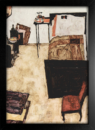 Imagem do Egon Schiele - Schiele's Room in Neulengbach