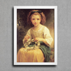 Bouguereau - Child Braiding a Crown - comprar online