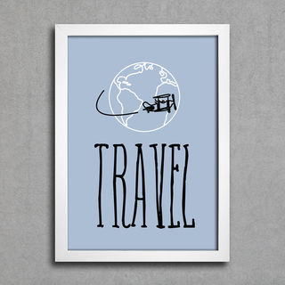 Poster Travel na internet
