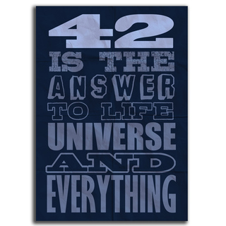 Imagem do Poster 42 is the Answer