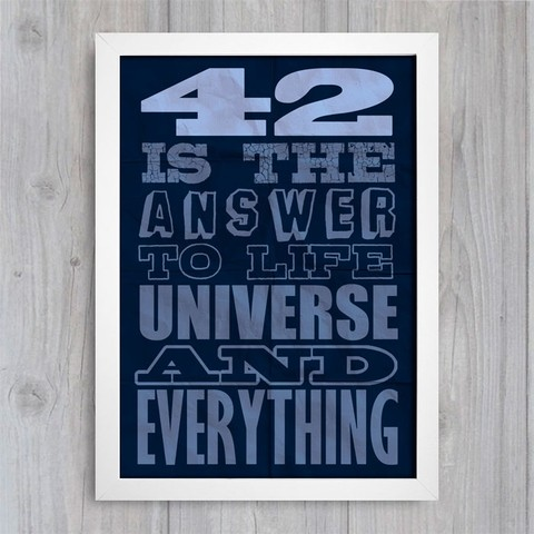 Poster 42 is the Answer