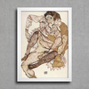 Egon Schiele - Seated Couple Egon and Edith Schiele - comprar online