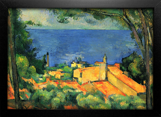 Cezanne - L'Estaque With Red Roofs - comprar online