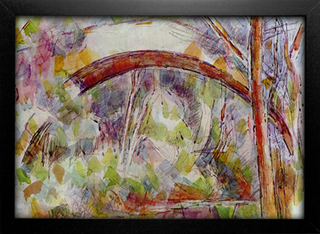 Cezanne - River With The Bridge Of The Three Sources - comprar online