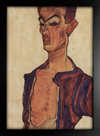 Imagem do Egon Schiele - Self-Portrait V