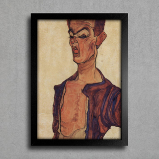 Egon Schiele - Self-Portrait V
