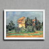 Cezanne - The Pigeon Tower At Bellevue