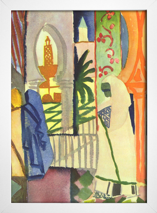 Imagem do August Macke - In The Temple Hall