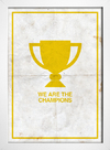 Poster Queen - We are The Champions || - loja online