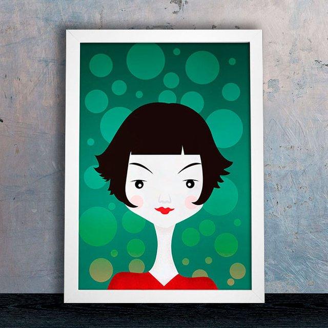 Poster Amélie Poulain Encadreé Posters