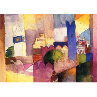 August Macke - Kairouan na internet