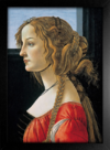 Imagem do Botticelli - Portrait of a Young Woman