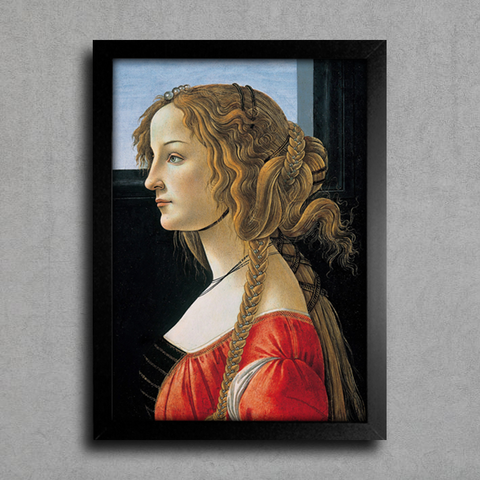 Botticelli - Portrait of a Young Woman