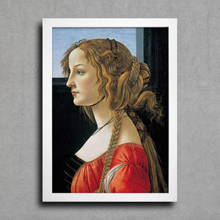 Botticelli - Portrait of a Young Woman - comprar online