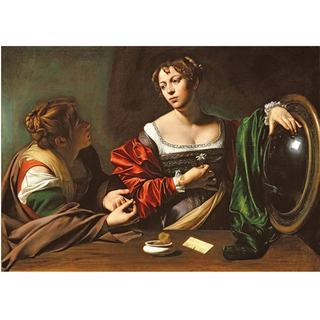Imagem do Caravaggio - Martha and Mary Magdalene