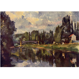Cezanne - Bridge Over The Marne na internet