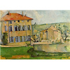 Cezanne - House and Farm at Jas de Bouffan na internet
