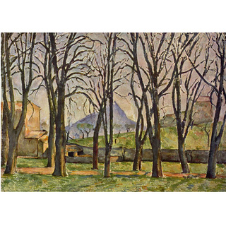 Cezanne - Chestnut Trees at the Jas de Bouffan na internet