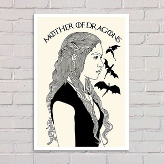 Poster Game of Thrones - Daenerys - loja online