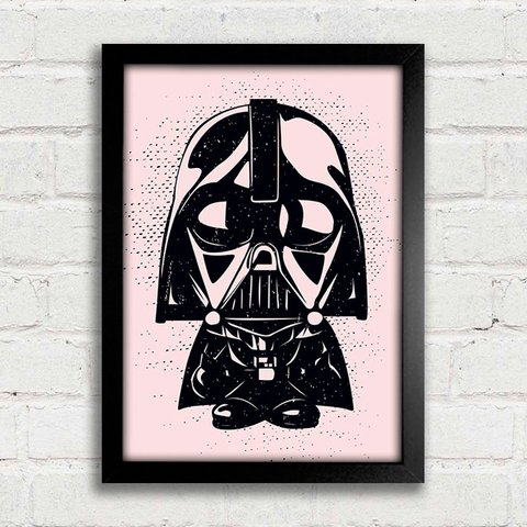 Poster Star Wars - Mini Darth Vader - comprar online