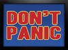 Poster Don't Panic na internet