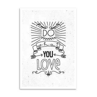 Poster Do What You Love - loja online